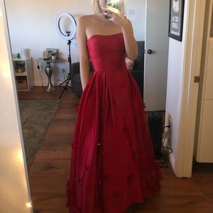 custom made prom dress